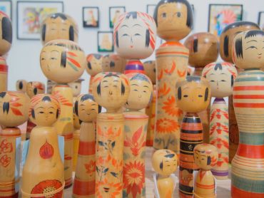 Pop-up Kokeshi Vintage