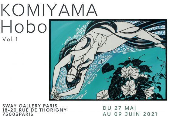 """Komiyama Hobo Vol.1                            – L'art de Kirié """"Papier découpé"""""""