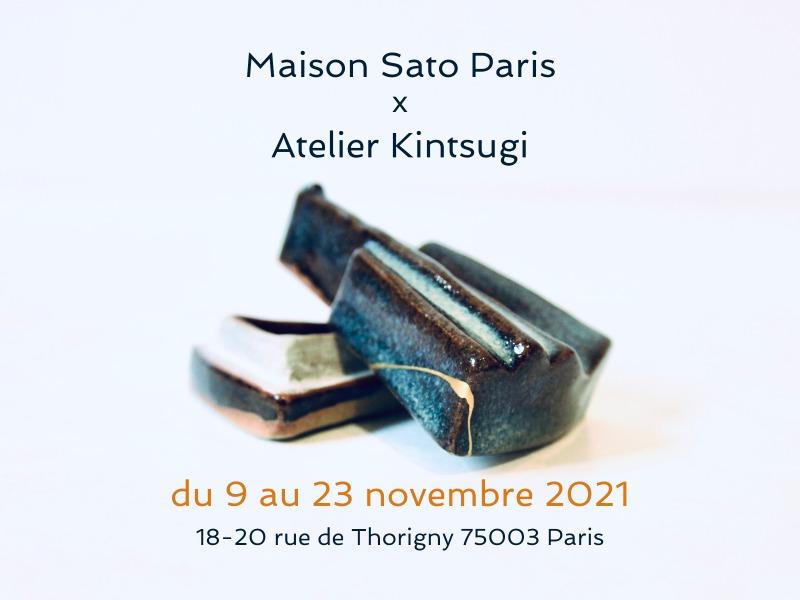 POP-UP Store Maison Sato Paris et Atelier KINTSIGI